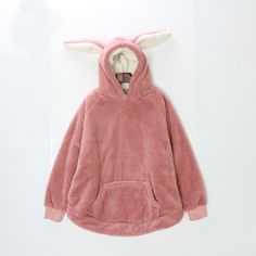 Mori Girl Clothing Hoodie on Mori Girl の森ガール.Mori Pastel Coral Fleece Lop Ear Bunny Hoodie Girly Tops .Alternatively stay bang up to date with the latest retro-look , adding 80's style glamour with a 24st Century twist.