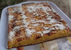 diana's cakes love: Prajitura cu iaurt si mere Banana Bread, Pizza, Desserts, Food, Pie, Tailgate Desserts, Deserts, Eten, Postres