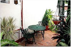 Detalle de la terraza superior. Cuba, Trinidad, Patio, Outdoor Decor, Home Decor, Discos, Terrace, Museums, Decoration Home