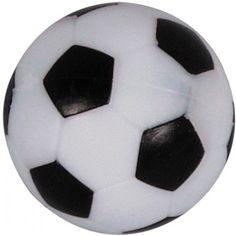 Tafelvoetbalballetjes Zwart/Wit