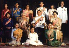 De koninklijke familie van Thailand