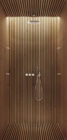 33 Ideas for bath room shower floor ideas woods Bad Inspiration, Bathroom Inspiration, Bathroom Ideas, Bathroom Glass Wall, Bathroom Trends, Bathroom Layout, Bath Ideas, Bathroom Designs, Bathroom Furniture