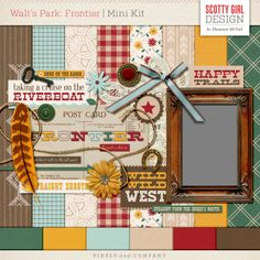 Walt's Park: Frontier Mini Kit