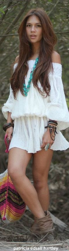 Hippie style. For more follow www.pinterest.com/ninayay and stay positively #pinspired #pinspire @ninayay