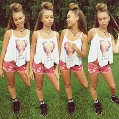 Designer Clothes, Shoes & Bags for Women Teen Fashion, Fashion Outfits, Female Fashion, Ex Girl, Dope Outfits, Red Outfits, Chill Outfits, Pretty Females, Teenager Outfits