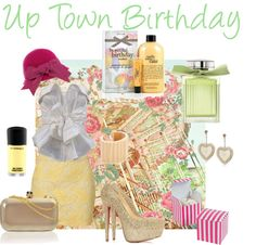 """Up Town Birthday"" by rhinestonesandrouge on Polyvore"