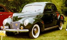 1939 - Mercury Series 99A Sedan Coupé