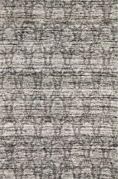 KAS Rugs Janvi 3029 Black Brocade Hand-Woven Viscose Jacquard Area Rug 5 x 8 Home Decor Rugs Rugs