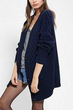 My mom had a sweater like this when I was a kid...it reminds me of hugs.
