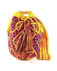 Authentic Wayuu Mochila available at www.shopkokay.com $120 Handmade in Colombia.