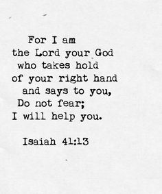 Jesus Christ is Lord;Tonight, I'm thankful that God walks with us through every storm. He takes hold of our right hand and never lets go. Life Quotes Love, Quotes To Live By, Me Quotes, Bible Verses Quotes, Bible Scriptures, Scripture Verses, Beautiful Words, Soli Deo Gloria, My Champion