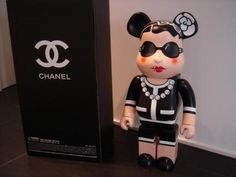 Some day this Chanel bear brick will be in my collection! Mr Roboto, Never Grow Up, Designer Toys, My Collection, Vinyl Art, Coco Chanel, Hypebeast, Fasion, Geek Stuff