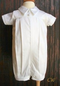 Harold Boys Christening Outfit