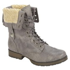 Yoki Women's Mudd Fringe Boots - grey - Kmart | Outfits ...