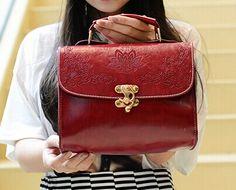 Rosso ♥ Shoulder Bag, Purses, Bags, Fashion, Handbags, Handbags, Moda, Fashion Styles, Shoulder Bags