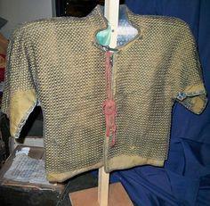 Kusari katabira (chain armor jacket).