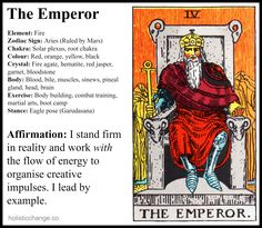 Holistic Correspondences for The Emperor