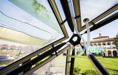 Bio-digital, interactive Urban Algae Canopy produces a small forest's worth of oxygen (Video) : TreeHugger