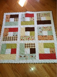Dandelion Quilts: A finished baby quilt