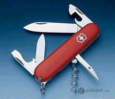Victorinox Swiss Army Knives Spartan Red Accessory