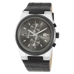Kenneth Cole New York Men's KC1654 Iconic Strap Watch Kenneth Cole. $99.99. Silicone colored strap. Water-Resistant to 165 feet (50M). Dependable Japanese Analog-Quartz movement. Solid stainless steel round case. 3-hand chronograph Japanese Analog-Movement with date. Save 38%!