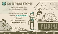 "Infografica ""5 rules for a good web design"" check out the full version on www.alicerisi.it"