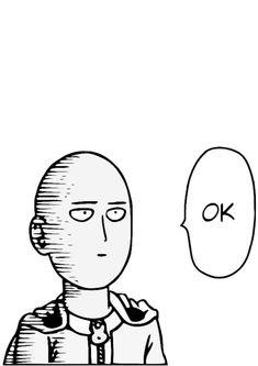 Desenho do Saitama Ok para imprimir e colorir com lápis de cor ou giz de cera desse personagem do popular anime one punch man. #saitama #saitamaok #saitamasokka #desenhoscolorir Saitama One Punch Man, Anime One Punch Man, Otaku Anime, Manga Anime, Anime Art, Drawing Sketches, Drawings, Anime Tattoos, Naruto Tattoo