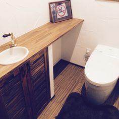 トイレ 手洗い/禁煙…などのインテリア実例 - 2014-12-23 06:40:55