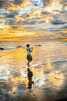 Beautiful Island Sunrise... ツ