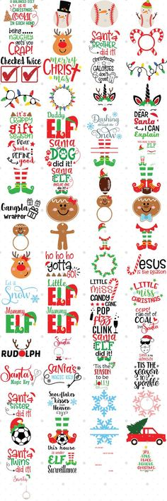 The huge svg bundle has over 500 svg cut files that are perfect for holiday crafts using vinyl decals and Cricut or Silhouette machines! This particular portion is perfect for Christmas crafts! Christmas Svg, Christmas Shirts, Christmas Projects, Holiday Crafts, Xmas, Free Font Design, Free Svg, Cricut Vinyl, Vinyl Decals