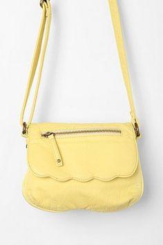 Pastel yellow purse