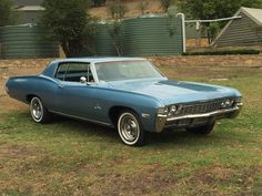 Chevrolet Impala Custom 1968 327 recent lhd import. There was a 396 in Sydney RHD from new ,up until a few years ago.