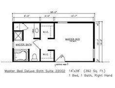 Master suite could be 1st or 2nd floor addition