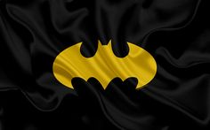 Download wallpapers Batman, 4k, black silk texture, Batman logo, emblem, Arkham
