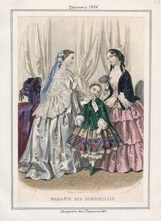 Casey Fashion Plates Detail | Los Angeles Public Library Feb.1,1855