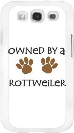 Köpekli - Owned By a Rottweiler - Kendin Tasarla - Samsung Galaxy S3 Kılıfları
