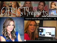 CHRISTYreports from Hollywood clips, including Pretty Little Liars' Ian Harding & Sasha Pieterse, WWE & E! Total Divas star Eva Marie, Vanderpump Rules' Scheana Marie, That Awkward Moment star Miles Teller, Maitland Ward of Boy Meets World and more!