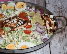 De gezonde recepten van Ursie Cobb Salad, Feta, Dressing, Yummy Food, Recipes, Delicious Food, Food Recipes, Rezepte, Recipe