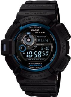 fac57568f30 Mens G-Shock Initial Blue 30th Anniversary Limited Edition Mudman Relógios  Casio G Shock