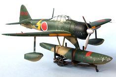 A6M2-N Rufe by Bruce Salmon (Hasegawa 1/48)