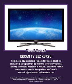NIEZWYKLE SKUTECZNY TRIK NA ZABEZPIECZENIE EKRANU TV PRZED KURZEM NA DŁUGO!