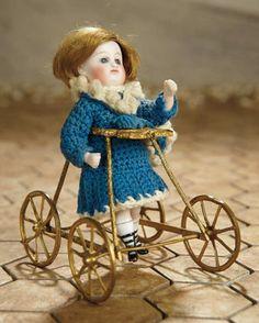 German All-Bisque Miniature Do... Auctions Online | Proxibid