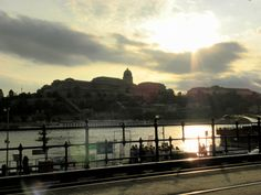 Buda Castle at sunset