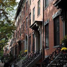 Boston South End Townhouses