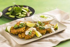 With the goodness of super-plant turmeric, these veggie fritters are crispy, delicious and full of turmeric power, which includes helping fight the common cold! Gluten Free Cooking, Cooking Recipes, Veggie Fritters, Vegetarian Entrees, Savoury Recipes, Healthy Recipes, Healthy Sweets, Pasta Dishes, Turmeric