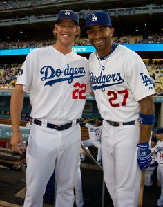 Kershaw and Kemp, foundation of the Dodgers.