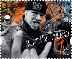 Pertti Kurikan nimipäivien postimerkki.