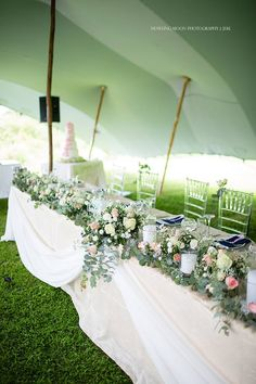 The 45 best our destination wedding in zimbabwe i tessm images on our head table pink and white roses eucalyptus and babys breath pillar junglespirit Choice Image