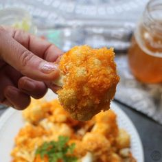 Vegan Air Fryer Recipes: Buffalo Cauliflower