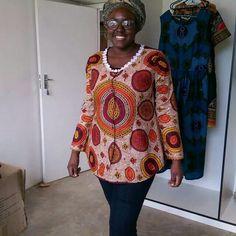#afroprint shirt made by #kasomw #malawi #africanprint #africanfashion